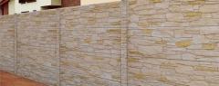 Unakit pískově žlutý melír 7D (celobarevný beton)
