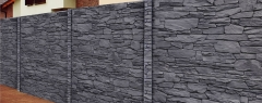 Turmalin antracitový melír 4C (celobarevný beton)