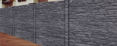 Turmalin Antracit 4D (celobarevný beton)