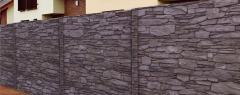 Cansas hnědo černý melír 8B (celobarevný beton)