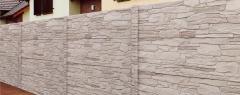 Rustiko světle hnědý melír A2B (celobarevný beton)